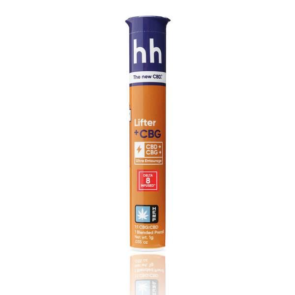 Delta 8 THC Infused HH Prerolls - CBG and Lifter CBD