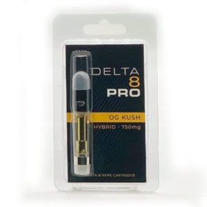 OG Kush Delta 8 THC Vape Cartridge - 1ML D8 Cart
