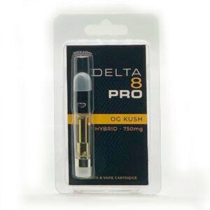 OG Kush Delta 8 THC Vape Cartridge - 1ML D8 Cart