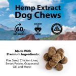 CBD Dog Chews by R+R Medicinals _ Hemp Extract Dog Chews Info Sheet