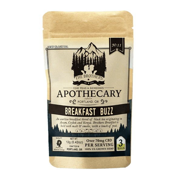 Image of Breakfast Buzz CBD Tea - Organic Hemp Tea | The Mass Apothecary
