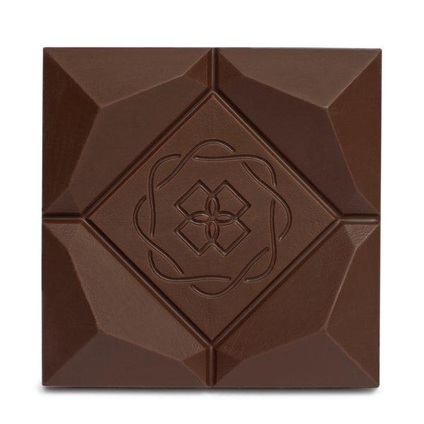 Difiori Organic Couverture CBD Decadent Swiss Coconut Dark Chocolate Bar - Close Up
