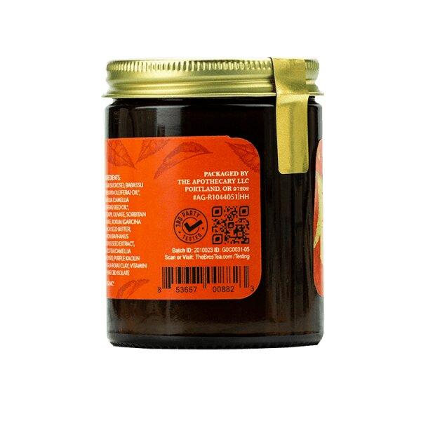 Energizing CBD Sugar Scrub - Earl Grey, Kaolin & Sugar _Side 2