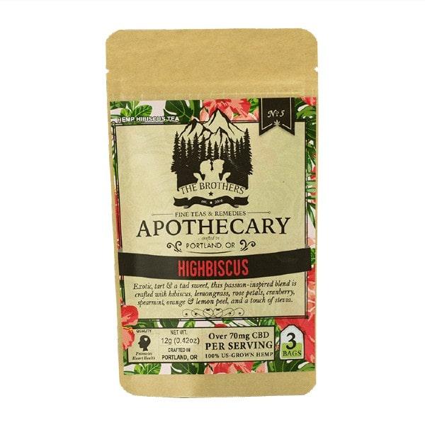 Highbiscus CBD Tea - Organic Hemp Tea