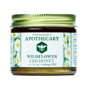 Organic Wildflower CBD Honey - 2oz