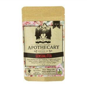 Sensualitea CBD Tea - Organic Hemp Tea