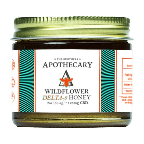 Image of Wildflower Delta 8 Honey Jar - 2oz | The Mass Apothecary