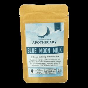 Blue Moon Milk | Vegan CBD Latte - Brothers Apothecary