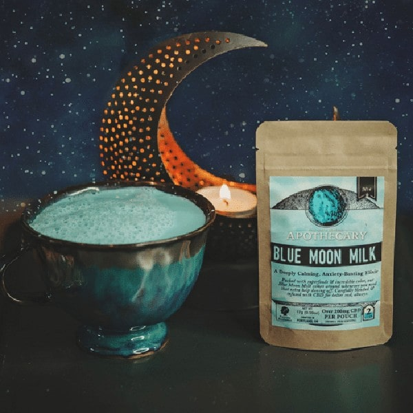 Blue Moon Milk   Vegan CBD Latte - Brothers Apothecary