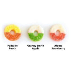 25mg Vegan CBD Gummies - Broad Spectrum _ R + R Meds - Gummy Flavors