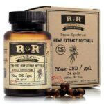 Broad Spectrum CBD Softgels 30mg - 34ct _ R+R Medicinals